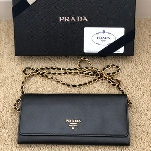Authentic Prada Wallet On A Chain